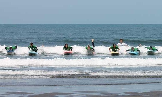 Surf guiado
